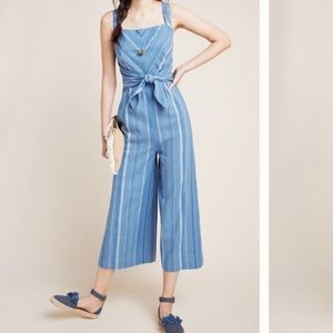 Anthropologie Laguna Striped jumpsuit NWT